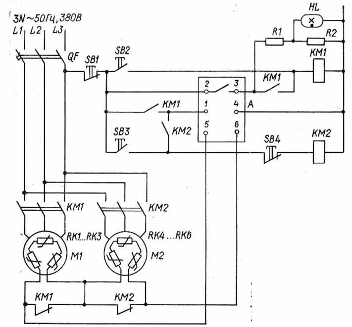 Принципіальна електрична схема